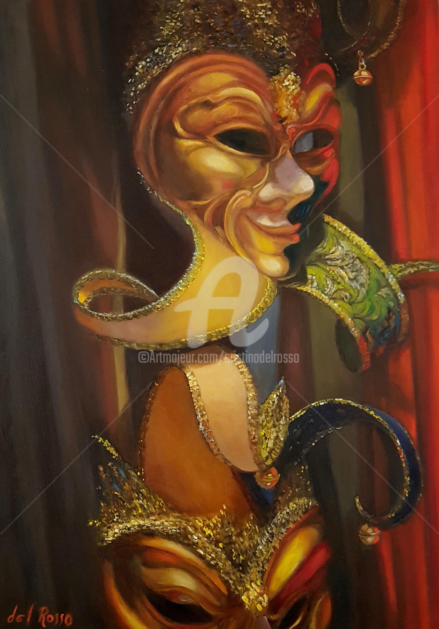 Cristina Del Rosso - Tus máscaras (venecianas)