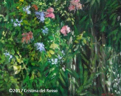 London, flowers, jungle, Landmark Art Centre